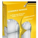 Commerce Manager: le Plugin WordPress , emploi chez soi
