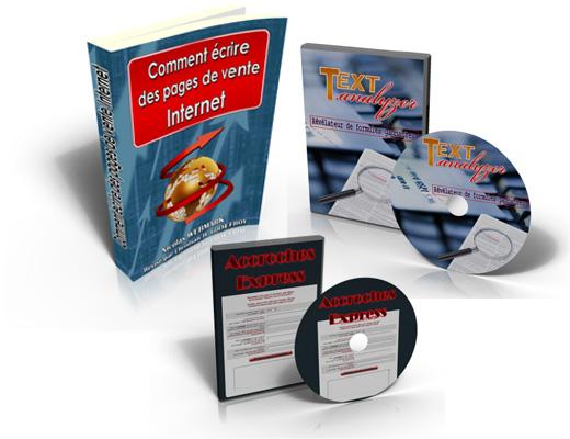 Pack - Comment écrire des pages de vente internet - promo