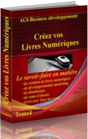 cr�ez vos livres num�riques,guide de la creation du marketing et du livre num�rique