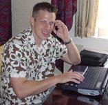 Jeremy Gossman un des créateurs de l' Audio Player Pro
