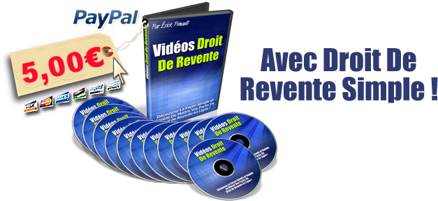 video droit de revente